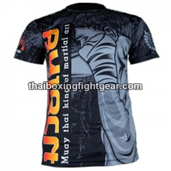 "Born to be Muay Thai Black T-Shirt ""Direct Punch"""