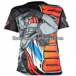 "Born to be Muay Thai Black T-Shirt ""Nudge"""