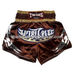 twins muay thai boxing-short brown