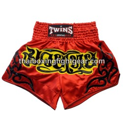 twins muay thai MMA boxing short red
