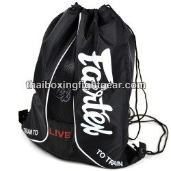 "Fairtex Boxing Gloves ""Sach Bag 6"" Black"