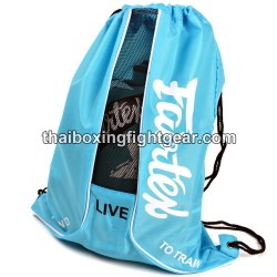 """Fairtex Boxing Gloves """"Sach Bag 6"""" Blue"""
