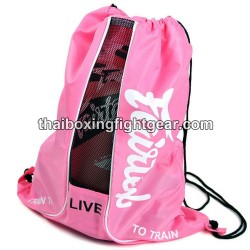 "Fairtex Boxing Gloves Bag ""Sach Bag 6"" Pink"