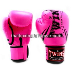 "Twins Special Fancy FBGVS3 Boxing Gloves ""Beginner Edition"" Pink"
