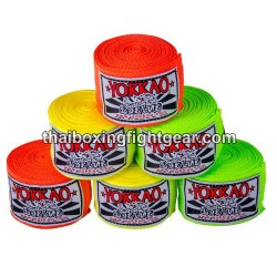 "Yokkao Thaiboxing Neon Color Handwraps ""4 Meters"""