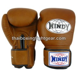 Windy Thaiboxing Gloves Brown