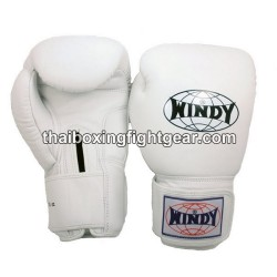 Windy Thaiboxing Gloves White
