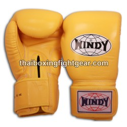 Windy Thaiboxing Gloves Yellow
