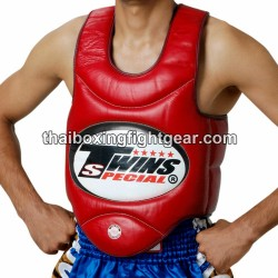 TWINS BODY PROTECTOR BOPS-1 SYNTHETIC LEATHER RED