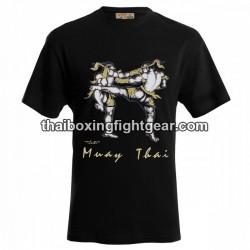 """Human Fight T-shirt """"FIGHT"""" Black"""