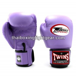 Muay Thai Boxing Gloves for Kids Twins BGVL-3 leather Purple