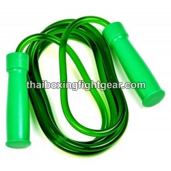 Boxing Skipping Rope Twins for speed training Green