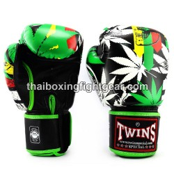 "Twins Boxing Gloves Thaiboxing ""Grass"" FBGVL3-54"