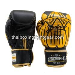 Buakaw Banchamek Muay Thai Boxing Gloves GL3 Black