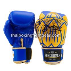 Buakaw Banchamek Muay Thai Boxing Gloves GL3 Blue