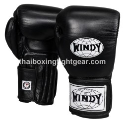 Windy Thaiboxing Gloves Pro Line Black
