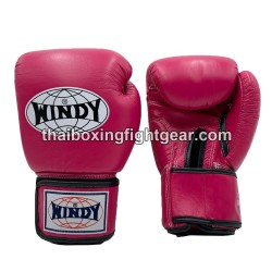 Windy Thaiboxing Gloves Dark Pink