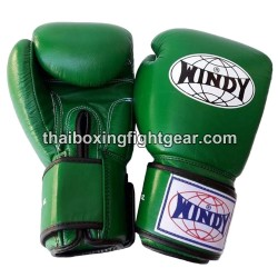 Windy Thaiboxing Gloves Green