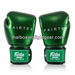 FAIRTEX BGV-22 THAIBOXING GLOVES METALLIC GREEN