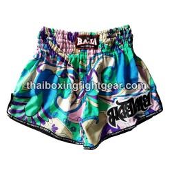 Raja Boxing Muay Thai Boxing Shorts Flower Blue