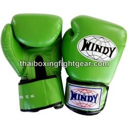 Gants de boxe thai Windy vert