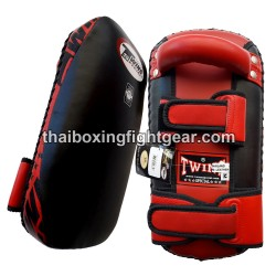 Twins Kicking Pads KPL-2 Leather Red Black