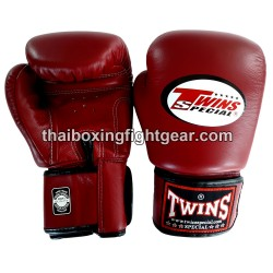 Twins Boxing Gloves Dark Red BGVL-3