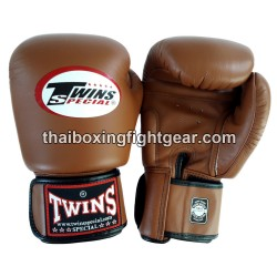 Twins Boxing Gloves BGVL-3 Brown