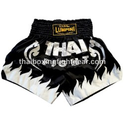 Lumpini Muay Thai Short Black/White