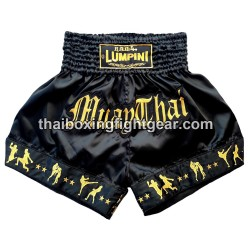 Lumpini Muay Thai Short Black