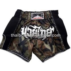 Lumpinee Muay Thai Short Khaki