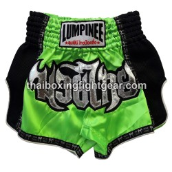 Lumpinee Muay Thai Short Green  / Black
