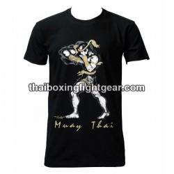 """Human Fight T-shirt """"Nudge"""" Black"""