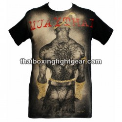 "Human Fight T-shirt ""Back Fighter"""