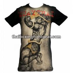 "Human Fight T-shirt ""Prayer"" Black/Beige"