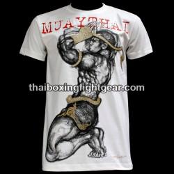 "Human Fight T-shirt ""Prayer"" White"