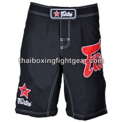 Fairtex MMA Short Black/Red