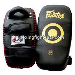 Fairtex KPLC5 Muay Thai/MMA Kick Pads Microfiber /One Pair/