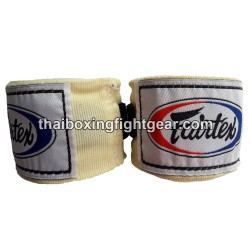 Fairtex Boxing Beige Cream Handwraps 180""