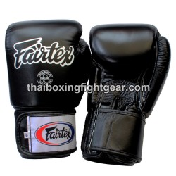 "Fairtex Boxing Gloves Black ""Bestseller"""