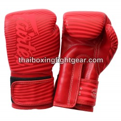 Fairtex Boxing Gloves Limited Edition Straight Red