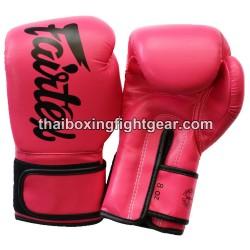 Fairtex Boxing Gloves Pink