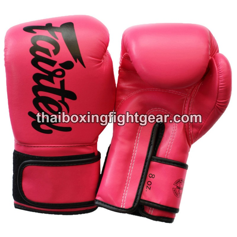 Fairtex Bgv14 Muay Thai Gloves Pink
