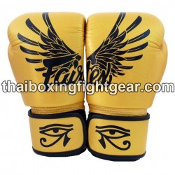 Fairtex Boxing Gloves Falcon Gold Limited Edition