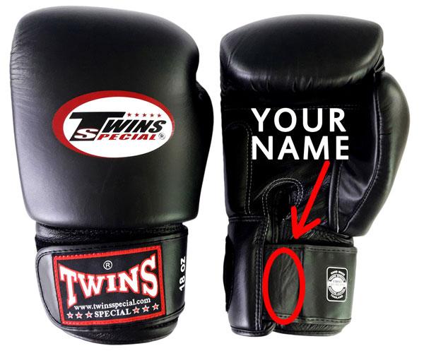 Personnalisation gants de boxe - Thailand fight gear