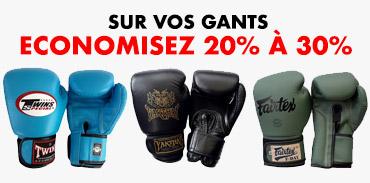 [block]Pack Muay Thai & MMA Fighter - gloves promotion