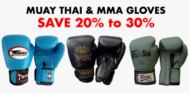 Pack Muay Thai & MMA Fighter - gloves promotion