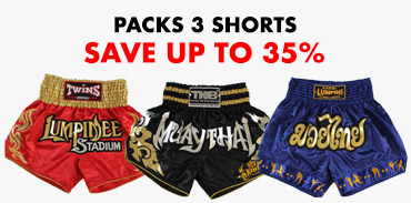 Promo MUAY THAI MMA Shorts - fighters legend - made in Thailand